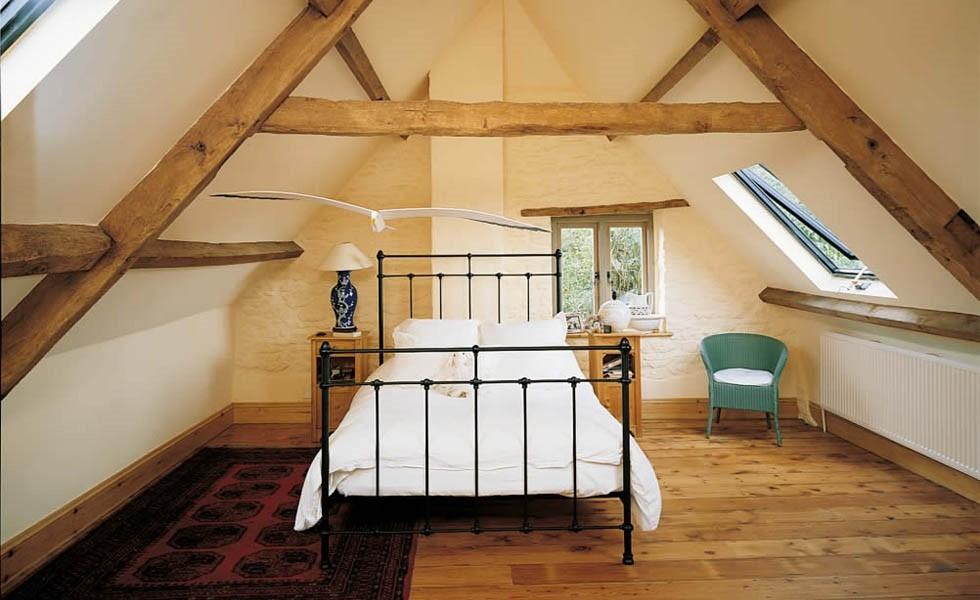 Completed Loft Conversion Bedroom - Granite Building Warranties