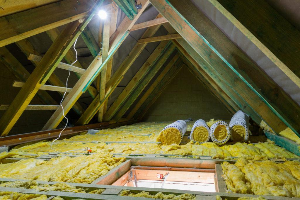 Loft Conversion - Empty Loft Space - Granite Building Warranties