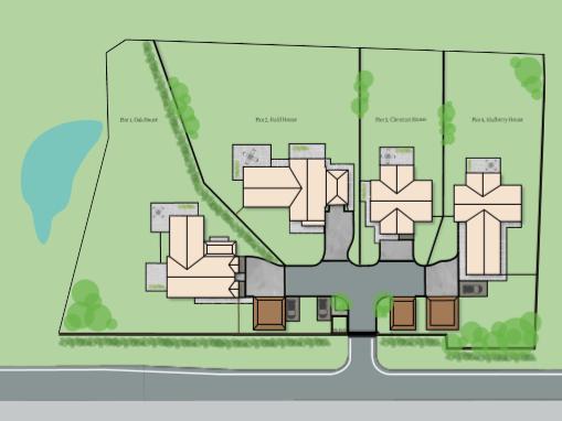 Handpost Farm, Berkshire Plans | Granite Building Warranties