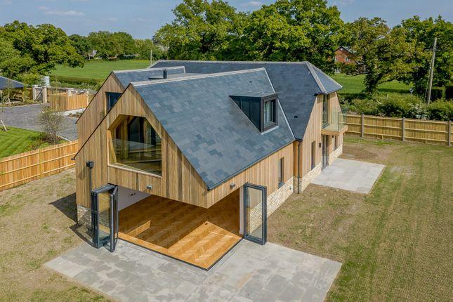 Handpost Farm, Berkshire Aerial View | Granite Building Warranties