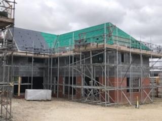 Green Farm, Barrow - External roof August (b)